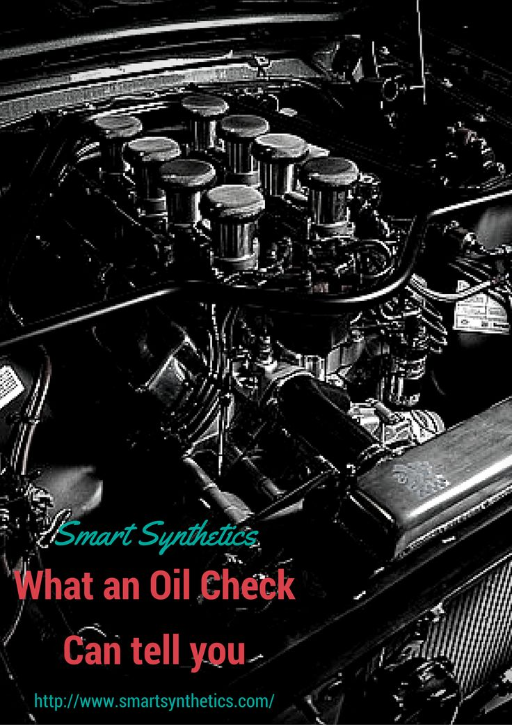 At Smart Synthetics we want to discuss what to look for when you checking your oil - http://www.smartsynthetics.com/