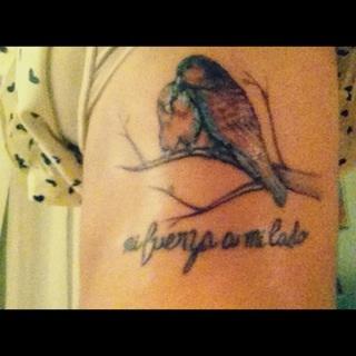 I won't ever regret getting my tattoo....RIP Grandpa <3