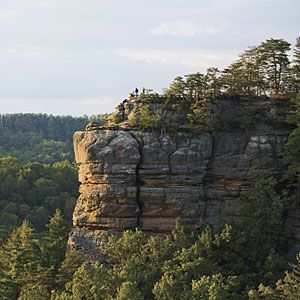 Kentucky's Red River Gorge | With soaring cliffs and majestic arches, Red River Gorge is an awe-inspiring place to visit. It may be the South's best-kept secret. | SouthernLiving.com