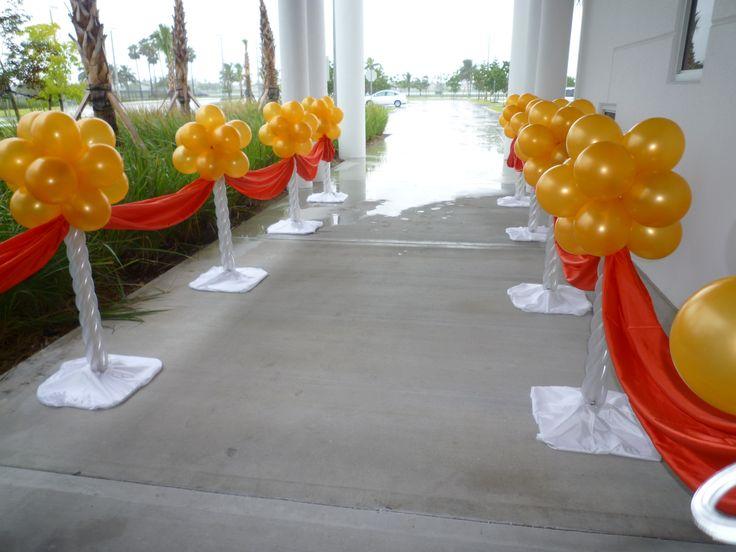 Main Entrance Way Decoration Dreamarkevents