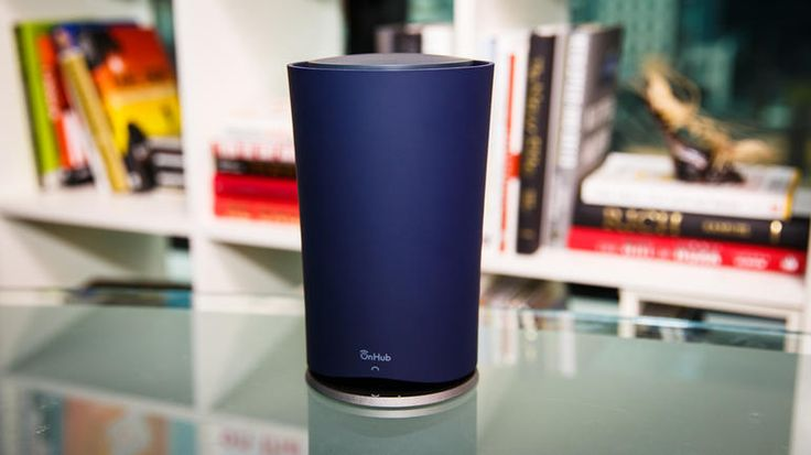 Enough with the wires and blinking lights! The Google OnHub is a router with an easy set-up and consistently improves by communicating with your devices!