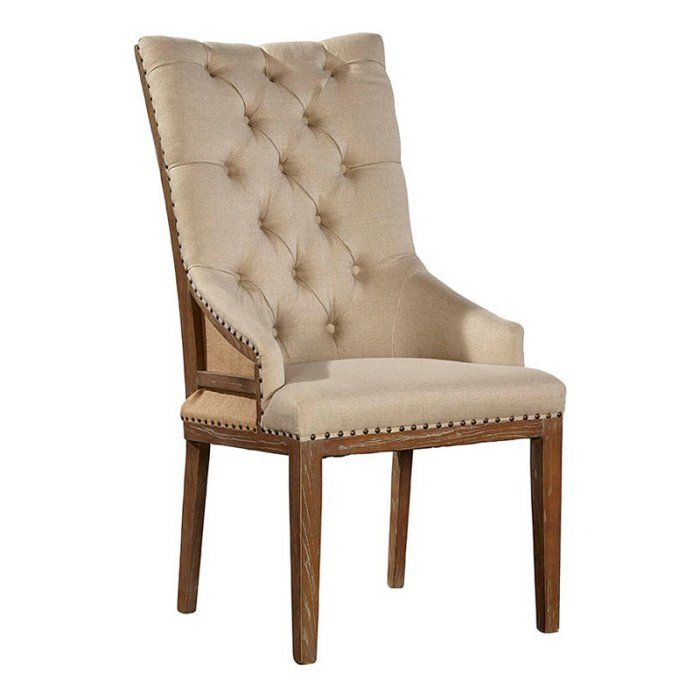 Sloane Elliot De Sousa Host Chair Hayneedle Dining Chairs High Back Dining Chairs Rustic Dining Furniture