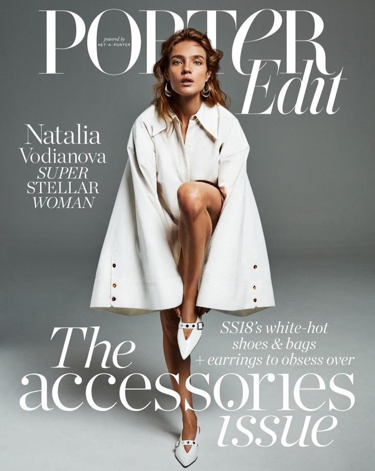 Natalia Vodianova | Sleek & Minimal Style | PORTER Edit Cover