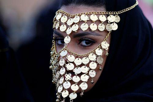 "biladal-sham:  "" A woman attends the Janadriyah Cultural Festival on the outskirts of Riyadh, Saudi Arabia.Faisal Al Nasser/Reuters  """