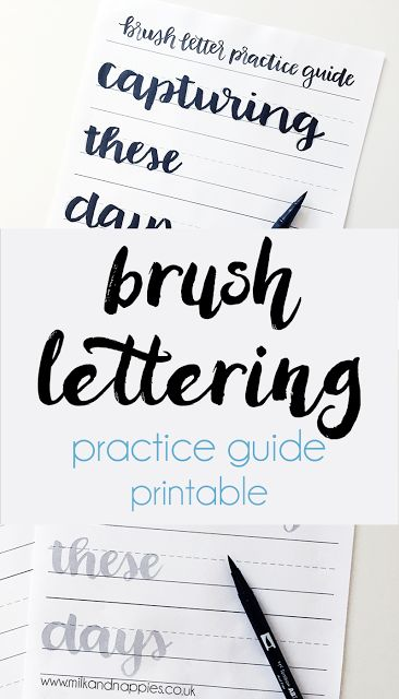 17 Best Ideas About Lettering Guide On Pinterest