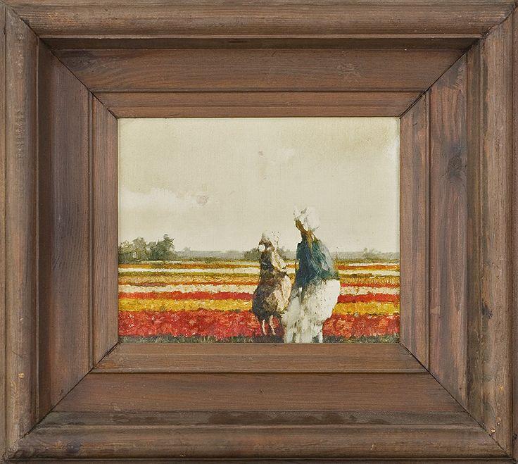 Jerzy Duda Gracz   OBRAZ 970 (HOLENDERSKI), 1985   olej, płyta pilśniowa   21 x 26 cm