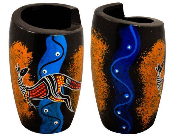 Australian Aboriginal Hand Painted Small by AboriginalOzArt