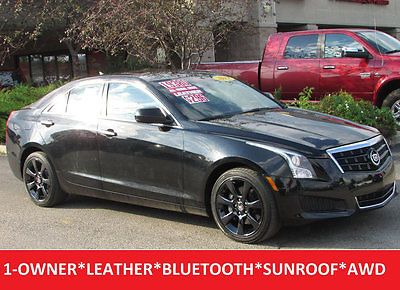 awesome 2013 Cadillac ATS 2.0L AWD Sedan Leather Sunroof 17 Black Chrome Wheels - For Sale View more at http://shipperscentral.com/wp/product/2013-cadillac-ats-2-0l-awd-sedan-leather-sunroof-17-black-chrome-wheels-for-sale/