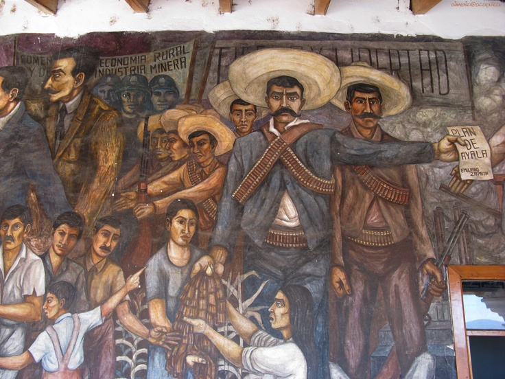 17 best images about latino art on pinterest for Emiliano zapata mural