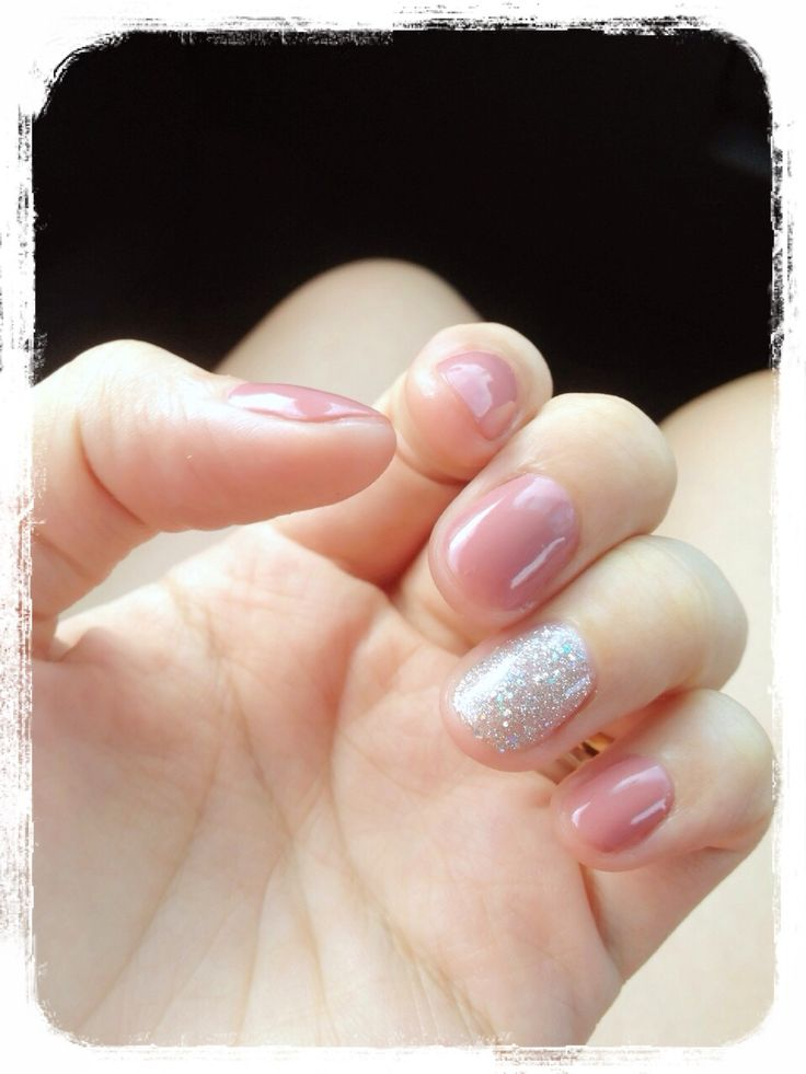 My nails for our pre-wedding photo shoot.