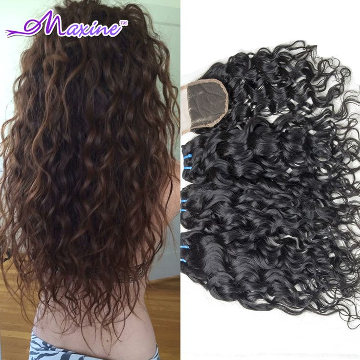 Cheap hair eugene, Buy Quality hair color for children directly from China hair extensions indian hair Suppliers: 		Brazilian Virgin Hair Water Wave with Closure 	Bundles Details:	1.Material: 100% Unprocessed&