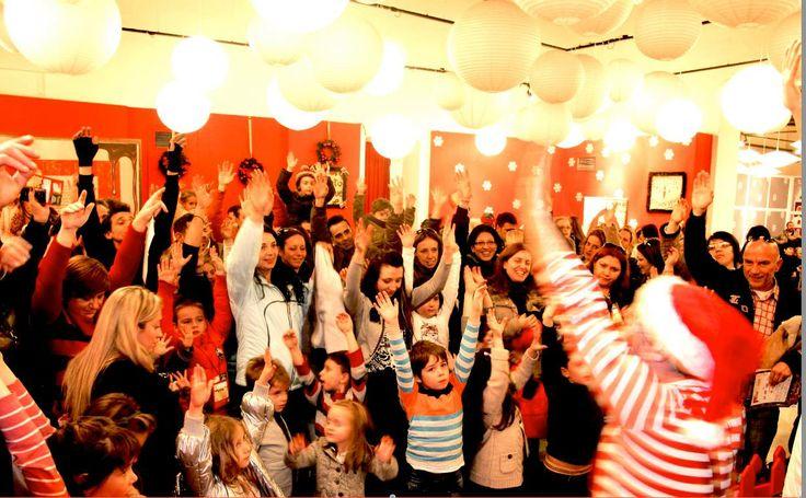 #party #time #TheChristmasFactory #Technopolis_gazi #athens #technopolis #greece #christmas #lights