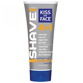 Here's the new addition to our line  Kiss my Face Natu... !  Check it out  http://ebambu.ca/products/kiss-my-face-natural-man-shaving-cream-sport-4-in-1-177-ml?utm_campaign=social_autopilot&utm_source=pin&utm_medium=pin