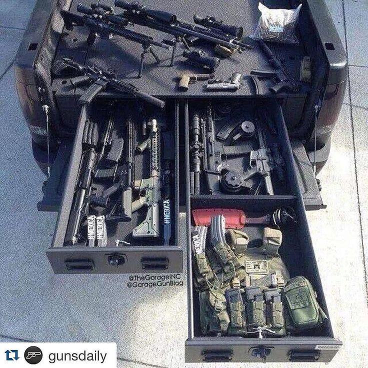 Allez les tireurs, montrez vos voitures pour aller au tir - Page 5 Ba87261c0ce8f084239a98cc7c253b54--vehicle-storage-gun-storage