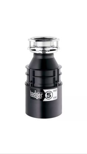 Garbage Disposals 42022: New Insinkerator Badger 5 1 2 Hp Continuous Feed Garbage Disposal 5-84 -> BUY IT NOW ONLY: $82 on eBay!