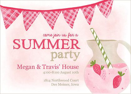 17 best Cards – Spring or Summer Theme Invitation Cards