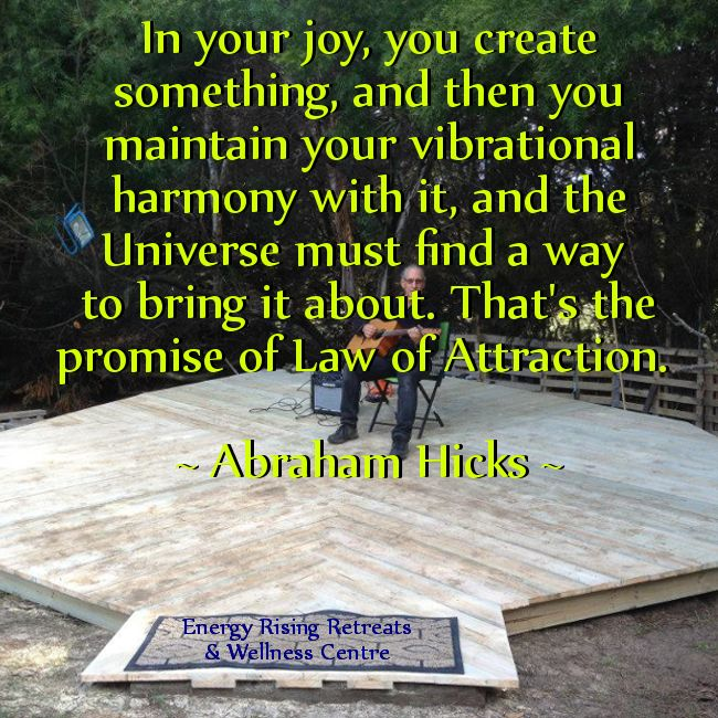 In your joy you create! #AbrahamHicks https://www.facebook.com/EnergyRisingRetreatsAustralia