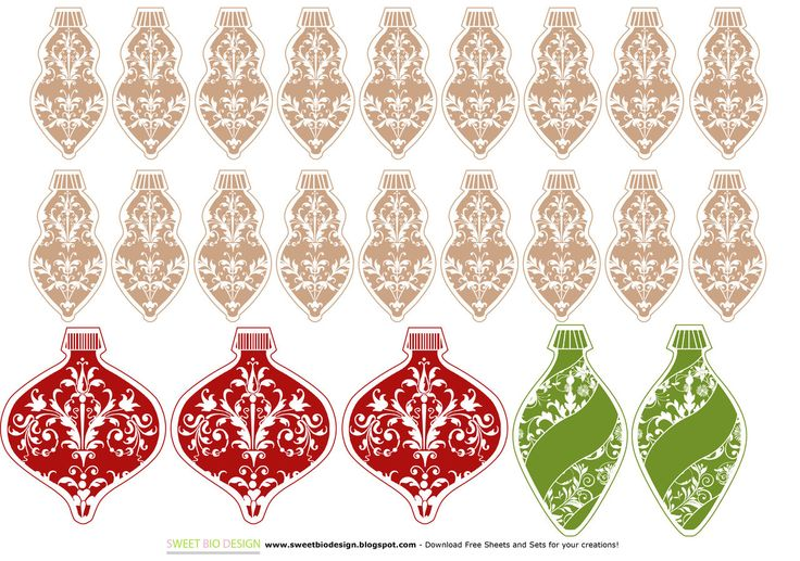 Sweet Bio design: Ornamenti Natalizi!!! - Christmas Ornaments!!!