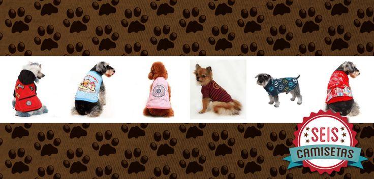 Seis Camisetas Legais pra Cachorro | T-shirt News