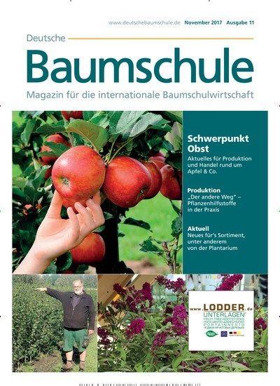 Schwerpunkt #Obst - Aktuelles für #Produktion und #Handel rund um #Apfel & Co. 🌳🍎 Jetzt in Deutsche #Baumschule:  #Bäume #Obstbaum #Apfelbaum #tree #appletree #gardening