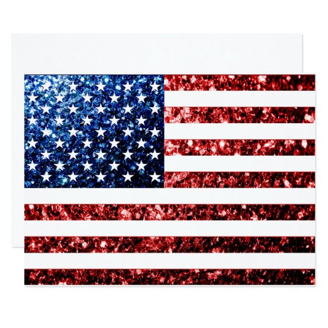 ⫸ 890 Postcard KEEP ON TRUCKIN White New Blue Red Stars Stripes