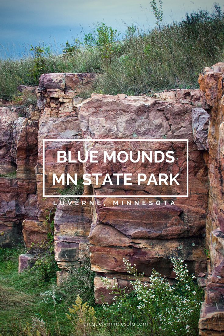 Minnesota's Blue Mounds State Park offers untouched views of the same prairie the first settlers crossed 150 years go. Today visitors can hike 15 miles of trails, climb 100-foot cliffs and have a rare opportunity to view a herd of bison on the prairie.