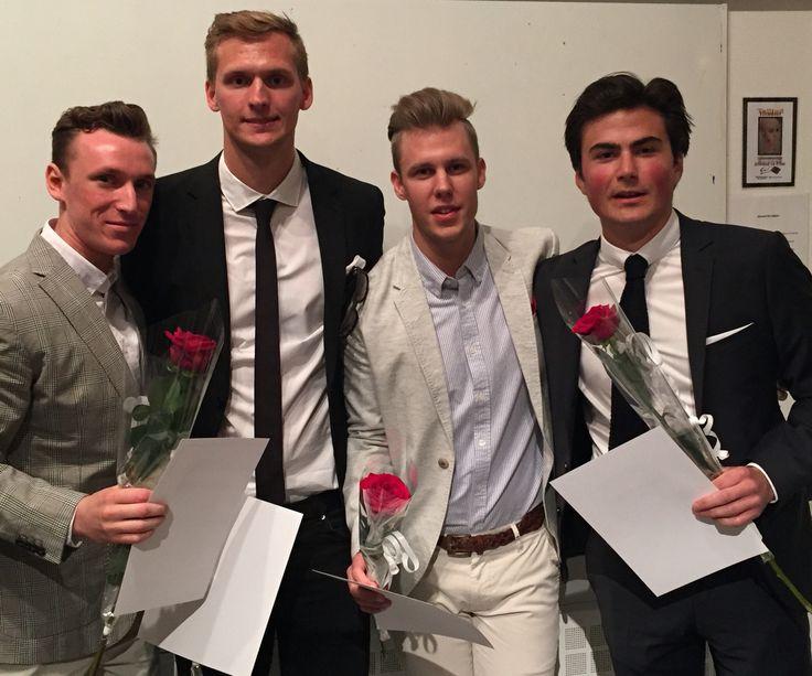 Hjalmar, Tim, Johan & Simon