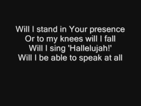 MercyMe - I Can Only Imagine (Lyrics) - YouTube