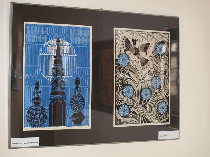 A kiállításon bemutatott művek