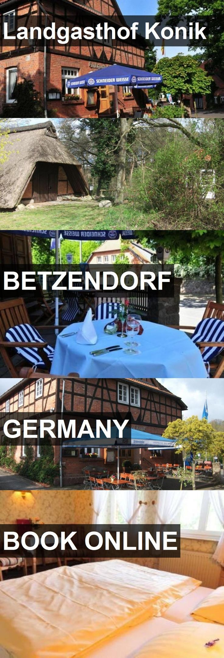 Hotel Landgasthof Konik in Betzendorf, Germany. For more information, photos, reviews and best prices please follow the link. #Germany #Betzendorf #travel #vacation #hotel