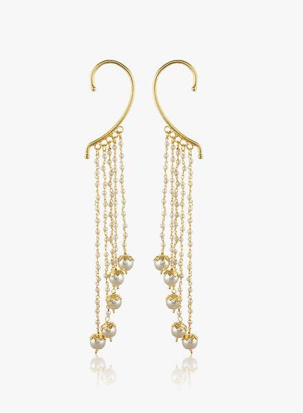 Buy Shining Diva White Alloy Danglers & Drop for Women Online India, Best Prices, Reviews | SH473JW16SCXINDFAS