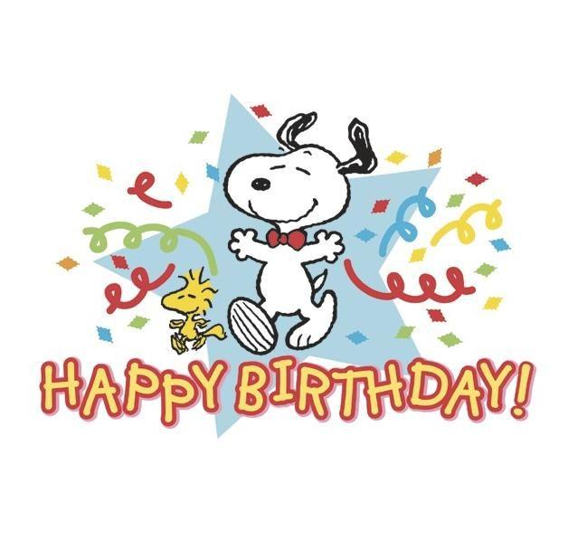 Peanuts - Happy Birthday