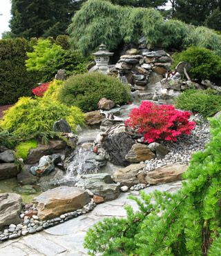 Create A Landscape With Fountain Demelo Landscaping