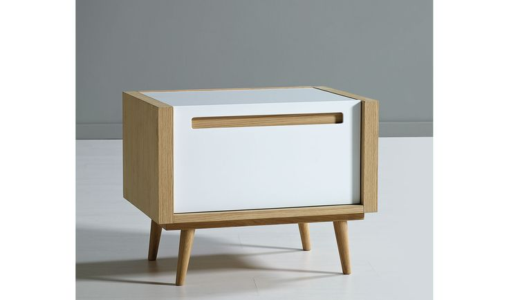 Muebles COSAS de ARQUITECTOS: Mesita de noche moderna Lagoon - Mesas de Noche de Diseño - Muebles de Diseño