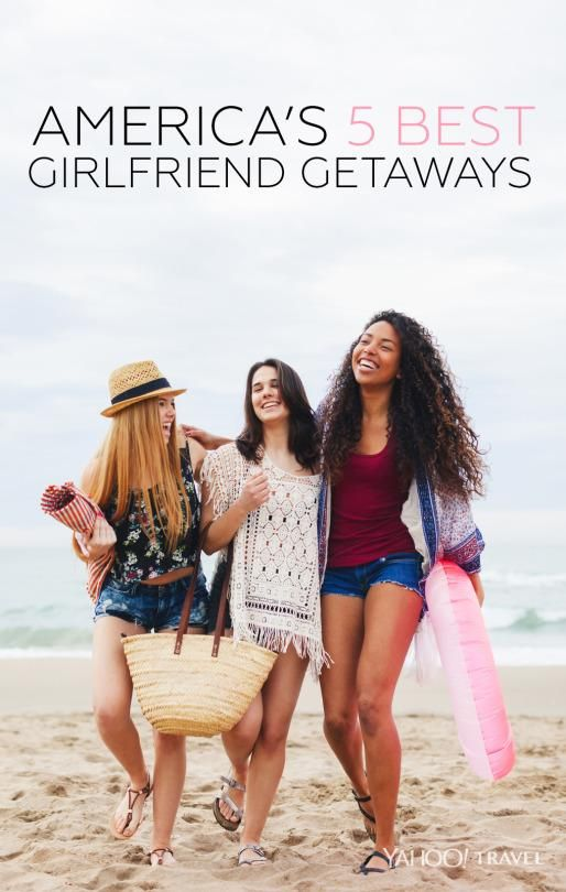 Life gets busy, and a girls' trip is the perfect opportunity to kick back and reconnect with the people who know you better than anyone else.
