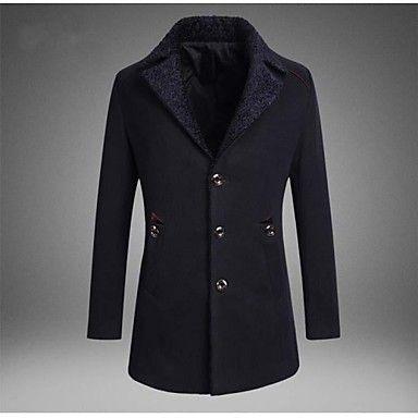 skymoto® mannen slanke trenchcoat (meer kleuren) – EUR € 59.99