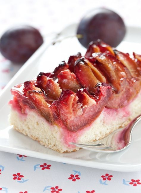 Pflaumenkuchen / plum cake