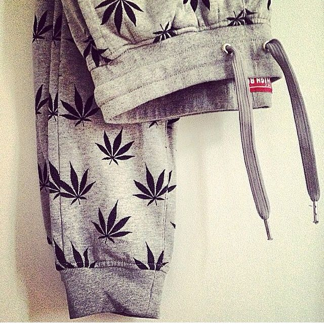 Weed Print Joggers
