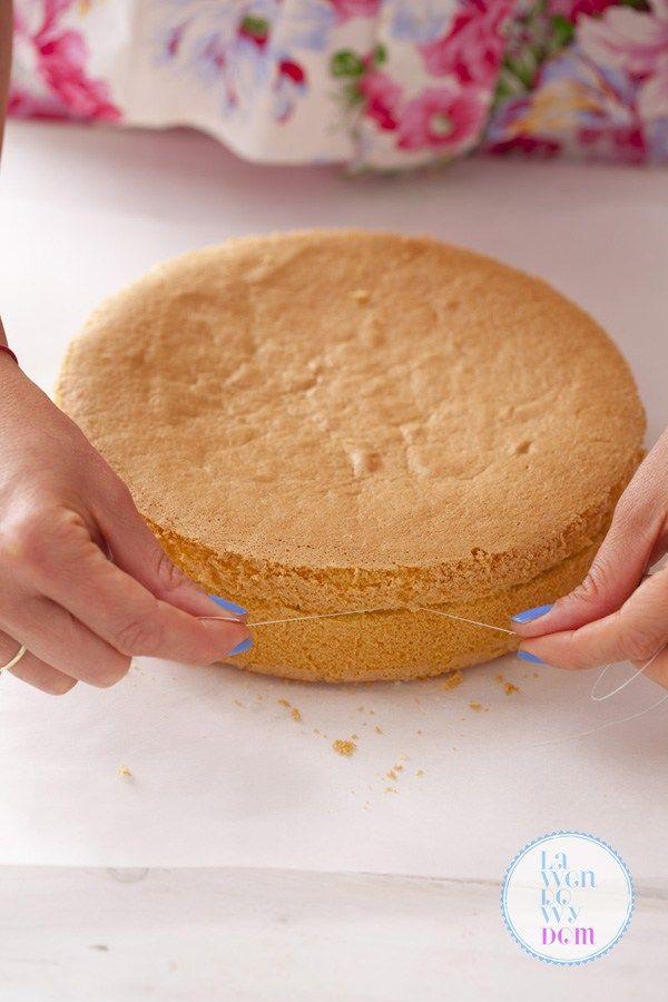 Jak upiec i pokroić biszkopt do tortu. Dokładna instrukcja! - Lawendowy DomLawendowy Dom