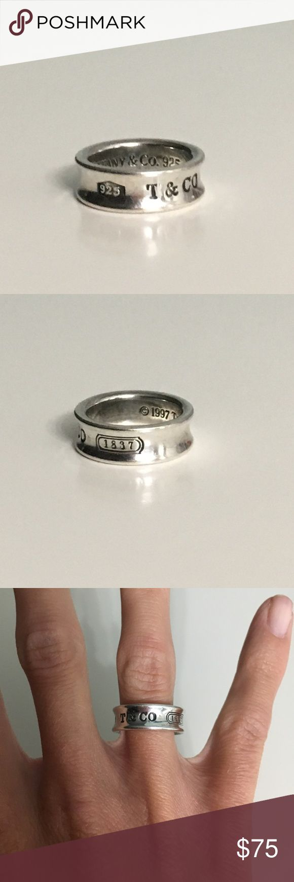 Tiffany and company ring Hardly worn.  Size 5 Tiffany and company.💍 Tiffany & Co. Jewelry Rings