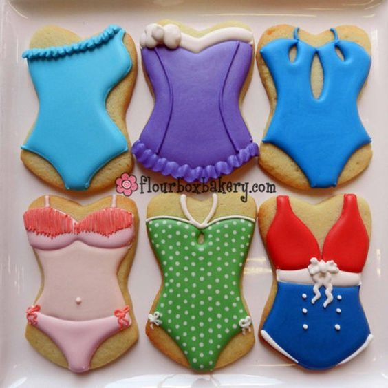 Swimsuit cookies // flour box bakery