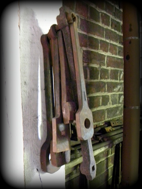 Blacksmith tools hang on the walls of james anderson 39 s for Williamsburg craft house catalog