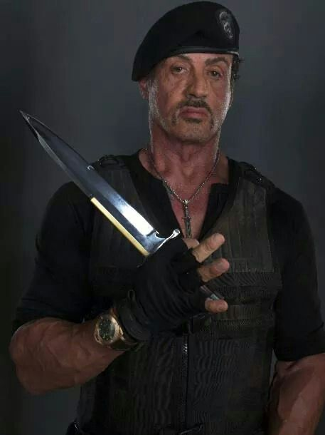 "Sylvester Stallone as 'Barney Ross' - ""The Expendables"""