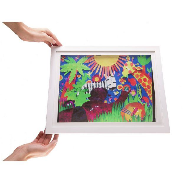Buy My Little Davinci A4 Photo Frame - White at Argos.co.uk - Your Online Shop for Photo frames, Wall art, pictures and photo frames, Home furnishings, Home and garden.