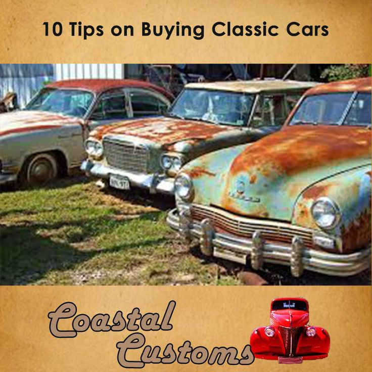 10 Tips on Buying Classic Cars! Looking to drop some money on a sweet '68 Mustang that somebody's hawking online? It might be a crazy bargain, or it could turn out to be a colossal waste of cash. Unless you know what you're doing, there's just no way to tell. Rather speak to the professionals. Contact us for more info: 044 697 7583  #customizing #classic #cars