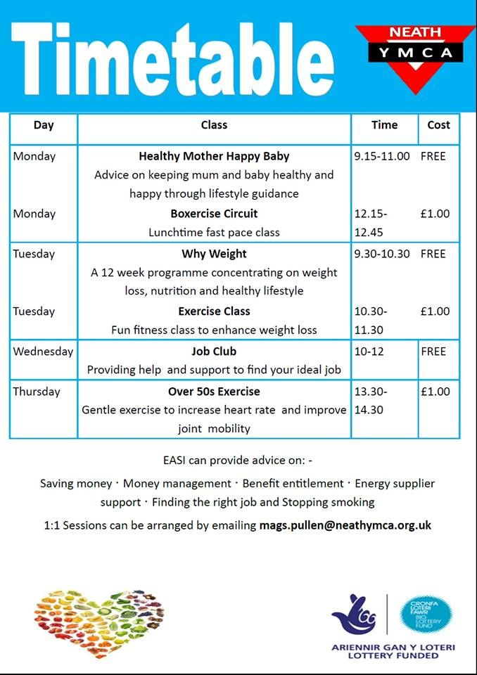 8 best The EASI Wellbeing Project images on Pinterest Healthy - project timetable