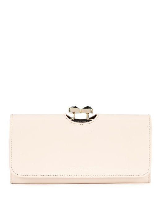HANIKA - Bow crystal matinee purse - Natural | Womens | Ted Baker UK