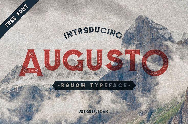 FileNameAugusto Rough TypefaceFile Formatttf,otfFile Size1…
