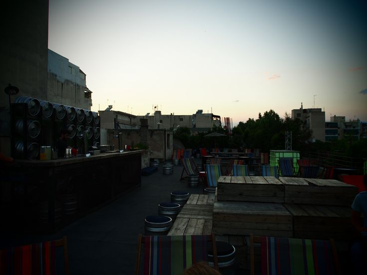 The rooftop at Bios Athens