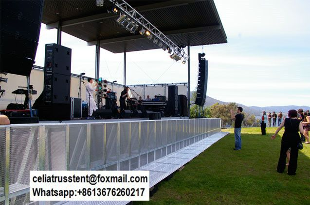 concert stage barriers for sale,aluminum alloy material, non-rust